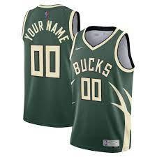 Milwaukee Bucks Nike Earned Edition Swingman Trikot - Herren