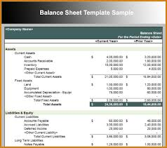 Format Balance Sheet Balance Sheet Sample Letter Format Template 10