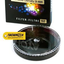 Купить <b>Светофильтр HOYA Variable</b> Density 3-400 - 52 mm в ...