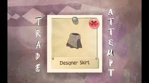 Designer Skirt Ajpw Animal Jam Play Wild Trade Attempts Designer Skirt Bonus