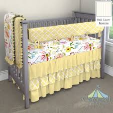 Carousel Designs Crib Rail Cover Kids Home Store Carousel Designs Green Tropical Crib Rail
