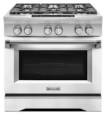 kdrs467vmws home design kitchenaid electric range commercial style 36 pro dual fuel imperial white kdrs467vmw5 9y