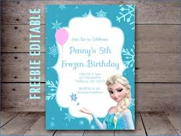 elsa birthday invitations frozen free editable birthday invitation domaindir info