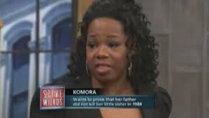 woman goes on the steve wilkos show to figure out if her father d her