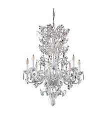 savoy house maria antoinette 8 light crystal chandelier in antique silver 2 b458 8