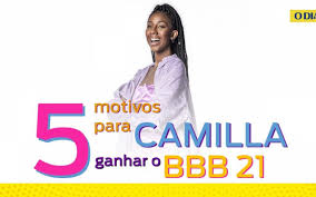 5 motivos para Camilla de Lucas ser a grande campeã do 'BBB 21'   Tá na  Rede