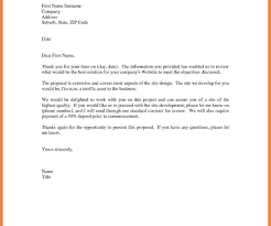Cover Letter For Job Application Example Of Simple Bussines Proposal