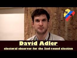 David Adler (Progressive Int'l), electoral observer: Ecuador's 2nd round  presidential election - YouTube