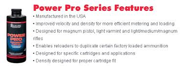 Shot Show Report Alliants Five New Power Pro Ball Powders