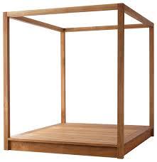 Mash PCH Modern Wood Platform Canopy Bed - Craftsman - Canopy Beds ...