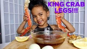 SEAFOOD BOIL MUKBANG - KING CRAB LEGS ...