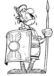 Roman Soldier Coloring Pages Sol R Drawing At Page Helmet Free