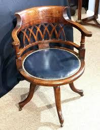 vintage office chair for sale. Vintage Captains Chair Antique Office Amazing Oak For Sale