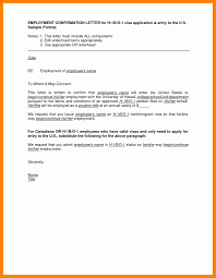 Letter Template For Word Employment Verification Letter Template Word Canada Format