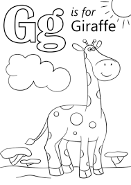 If you like coloring books, you will enjoy this coloring games category. Letter G Is For Giraffe Coloring Page In 2020 Giraffe Coloring Pages Abc Coloring Pages Preschool Coloring Pages