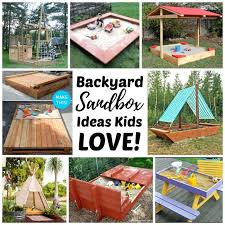 diy backyard sandboxes are amazing outdoor sensory play spaces for kids tips tutorials
