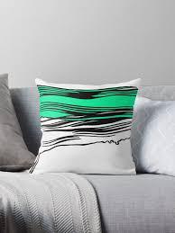 seafoam green throw pillows. Perfect Pillows Lichtenstein Brush Strokes Seafoam Green By Green19 Intended Throw Pillows L
