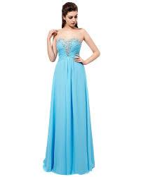 Light Blue Sparkly Bridesmaid Dresses Sparkly Long Light Blue Bridesmaid Dresses Rhinestones