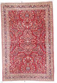 6757 antique sarouk persian rug 4 3 x 6 5