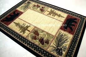 rustic cabin rugs lodge area rug designs bathroom cottage runner rustic cabin rugs pine forest bear rug cottage area