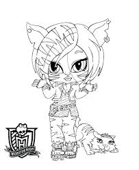 monster high baby coloring pages. Beautiful Pages Coloring Pages Of Monster High Free Printable Ba  Inside Monster High Baby Coloring Pages E