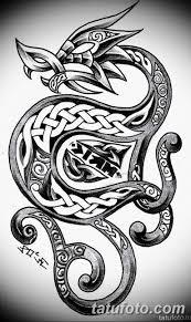 тату дракон эскизы для девушек 08032019 001 Tattoo Sketches