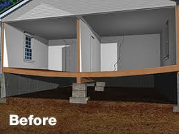 smartjack™ crawl space stabilizer adjustable floor joist support sagging crawl space floors before installing smartjack®