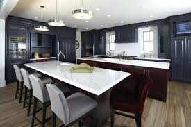 kitchen drum pendant glamorous lighting in kitchen traditional with navy blue cabinets next to drum pendant