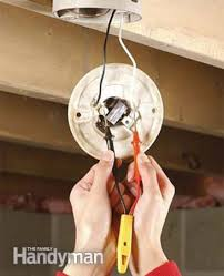 how to replace a pull chain light fixture the family handyman photo 1 test for hot wires