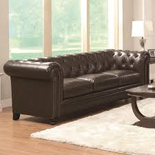 Brown leather sofa sets Coaster Chaseoftanksinfo Brown Leather Sofa Stealasofa Furniture Outlet Los Angeles Ca