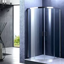 image of showers aqua glass corner shower kit 36 x 36 corner shower doors
