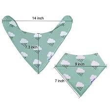 Bandana Bib Pattern Magnificent 48Pack Super Absorbent Organic Cotton Bandana Bibs Baby Drool Bibs