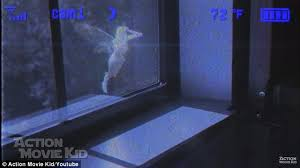 The Footage Shows A White Fairy Flying Up To The Window Wanting To Get In