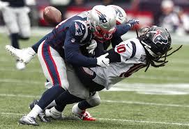 Patriots' Duron Harmon fined for hit on Texans WR DeAndre Hopkins