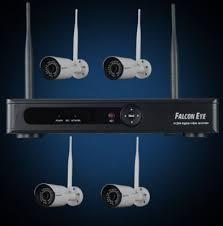 <b>Комплект</b> Wi-Fi IP <b>видеонаблюдения Falcon</b> Eye FE-2104W <b>KIT</b>