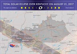 2017 Solar Eclipse Chart 2017 Total Solar Eclipse In Kentucky