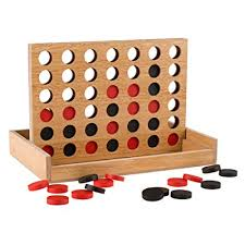 Wooden Games For Adults Stunning Amazon Classic Four In A Row Game Wooden Travel Board Game For