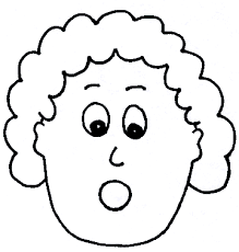 Small Picture Surprised Face Coloring Page Coloring Coloring Pages