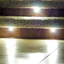 led stair lighting kit. Indoor Stair Lighting Led Recessed Light Kit Wall . Step Lights