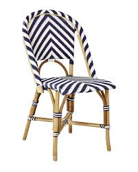 chevron riviera side chair design of outdoor french bistro chairs