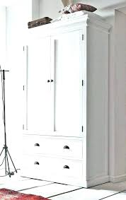 white armoire wardrobe bedroom furniture. Wardrobes: White Armoire Wardrobe Bedroom Furniture Clothing Wardrobes S Y