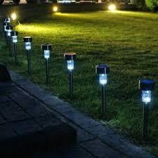 garden lamp. Lampu Taman Matahari LED Garden Lamp LV Tenaga Surya Solar Cell