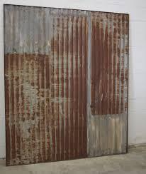 brian built barn doors. Custom Made Rusty Tin Sliding Barn Doors Brian Built O