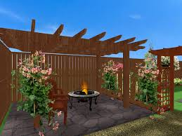 Covered Backyard Patio Designs Cover Single Line Kitchen Newest ...