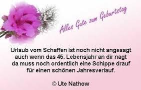 Sprüche Zum 45 Geburtstag Geburtstagswünsche Zum 45