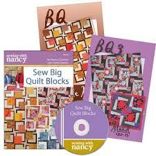 Sew Big Block Quilts/Nancy Zieman/Debbie Bowles/Quilt Patern ... & Sew Big Block Quilt Patterns Debbie Bowles Adamdwight.com