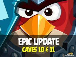 Angry Birds Epic Update Adds 20 New Levels in Caves 10 and 11! (v1.1.1)