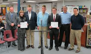 john gomez wins vfw voice of democracy essay contest west  photos