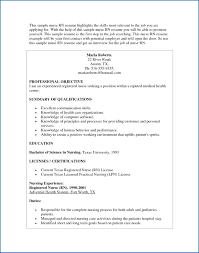Nursing Resume Example Unique Rn Skills Resume Sample Nurses Resume