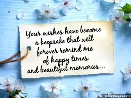 Wishes Quotes Magnificent Thank You Messages For Birthday Wishes Quotes And Notes